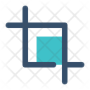 Crop Object Image Icon