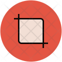 Crop Tool Cube Icon
