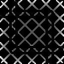 Crop Cut Image Icon