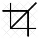 Crop Cut Edit Icon