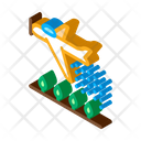 Crop Duster Plane Icon