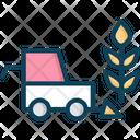Crop Harvesting Icon