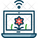 Crop Monitoring Icon