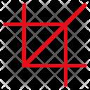 Crop Tool Image Icon