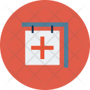 Cross Medical Clinic Icon
