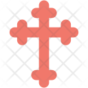 Cross Pray Christian Icon