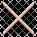 Cross Math Sign Icon