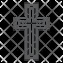Religious Cross Christ Icon