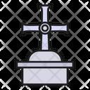 Cross Church Catholic Icon