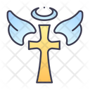 Cross Angel Holy Icon