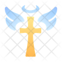 Cross Angel Holy Icon