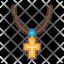 Christian Cross Neck Icon