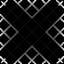 Cross Deny No Icon