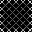 X Cross Cancel Icon