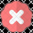 Cross Fail Feedback Icon