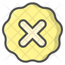 Cross Fail Unapproved Icon