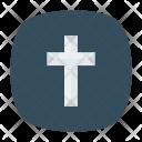Cross Catholic Church Icon