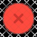 Delete Remove Close Icon