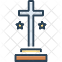 Cross Holy Spirituality Icon