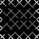 Cross Menu Circle Icon