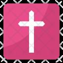 Christian Cross Crucifixion Icon