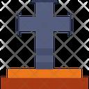 Cross Party Religion Icon