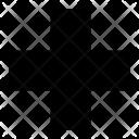 Cross Hodpital Medical Icon
