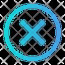 Cross Delete Cancel Icon