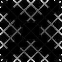 Cross Sign False Icon