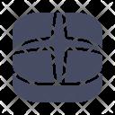Cross Bun Easter Icon