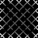 Cross Alt Cancel Delete Icon