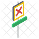 Cross Board Icon