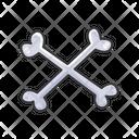 Cross Bones Bones Skeleton Icon