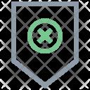 Cross Cale Tag Icon