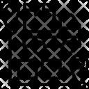 Cross Dock Logistic Icon
