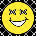 Emoji Cross Eyes Face Emoticon Icon