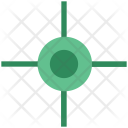 Cross Hair Reticle Icon