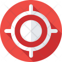Crosshair Focus Objective Icon