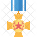 Cross Medal Icon