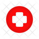 Cross Medical Circle Icon