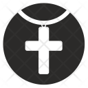 Cross Chain Jewelry Icon