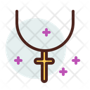 Cross Necklace Icon