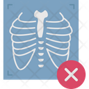 Cross On Ribs Chest Infection Chest Icon