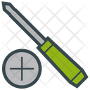 Cross Screwdriver Icon