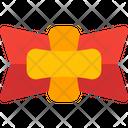 Cross Shield Badge Medal Award Icon