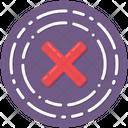 Cross Sign Icon