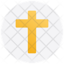 Christmas Cross Sign Religion Icon