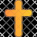Danger Cross Sign Horror Icon