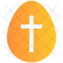 Cross Sign Holiday Easter Icon