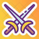 Cross Swords War Symbol Weapon Icon